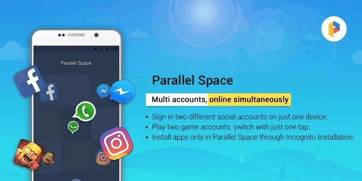 Parallel Space Multiple accounts & Two face