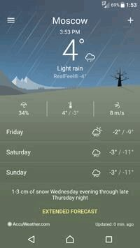 Weather 1 3 A 4 15 APK Download by Sony Mobile
