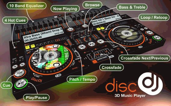 Discdj 3d Music Player 3d Dj Music Mixer Studio V4 005s Apk Download By Gameg Apktoo