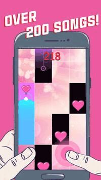 Lovely Heart Piano Tiles