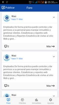 Wasi Software inmobiliario