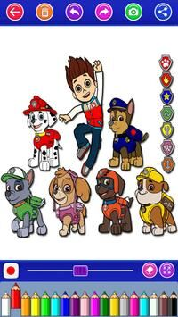 paw puppy coloring patrol game