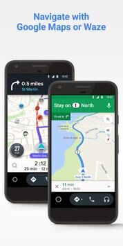 Android Auto Google Maps, Media & Messaging