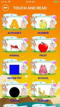 English Alphabet, Numbers, Fruits for kids